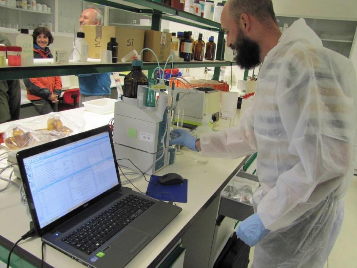 midiendo laboratorio